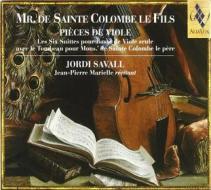 Pieces de viole 6 suite pour basse