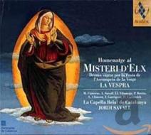 Homenatge misteri d'elx-la cappella