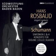 Sinfonie e concerti - rosbaud dirigiert schumann