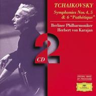 Symphonies nos.4 5 & 6 pathetique (sinfonie n.4, n.5, n.6)