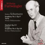 Sinfonia n.1 op.38 ''primavera'', n.4 op.120, manfred (ouverture op.115)