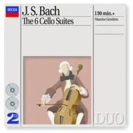 Cello suites nos. 1-6, bwv1007-1012