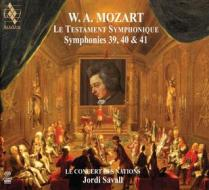 Le testament symphonique - sinfonie n.39 k 543, n.40 k 550, n. 41 k 551 (sacd)