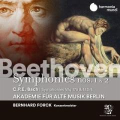 Beethoven: symphonies nos. 1 &