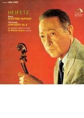 Bruch: scottish fantasy/ vieuxtemps: concerto no. 5/ heifetz, violin ( hybrid st