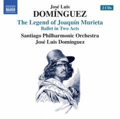 La leyenda de joaquin murieta (balletto  in 2 atti)