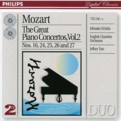 The great piano concertos vol.2 (concerti per pianoforte vol.2: n.16, n.24, n.25, n.26, n.27)