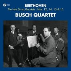 Beethoven the late string quartet 12,14,15 & 16 (Vinile)
