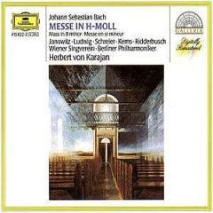 Mass in b minor (berlin philharmonic orchestra feat. conductor: herbert von karajan)