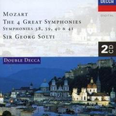 Symphonies 38-41 (sinfonie n.38, n.39, n.40, n.41)