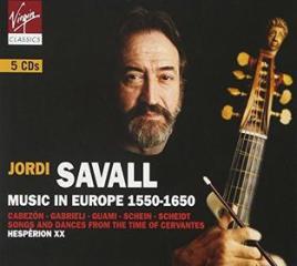 Music in europe 1550-1650 (box)