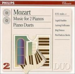 Werke fur zwei klaviere und klavier (musica per due pianoforti)