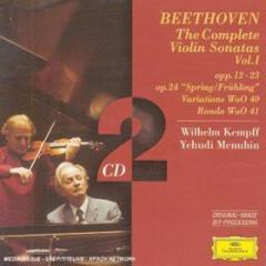 Violin sonatas vol.1 (sonate per pianoforte e violino complete vol.1)