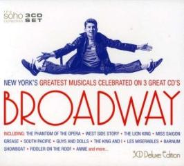 Broadway: new york's greatest musicals celebrated on 3 great cd's
