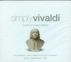 Simply vivaldi (4cd)
