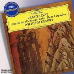 Annee de pelerinage-italie-2 legend (anni di pellegrinaggio: italia)