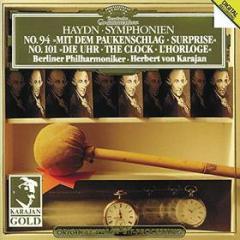 """Symphonien no. 94 """"mit dem paukenschlag"""" / no. 101 """"die uhr"""""""