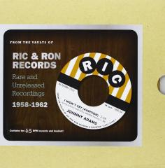 From the vaults of ric & ron (10 45's bo (Vinile)