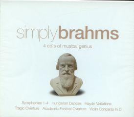 Simply brahms (4cd)