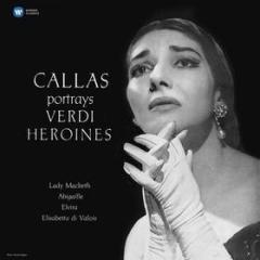 Callas portrays verdi heroines (Vinile)