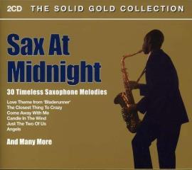 V/a-sax at midnight:solid gol