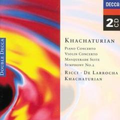 Concerto per pianoforte - concerto per violino - sinfonia n.2 - masquerade suite