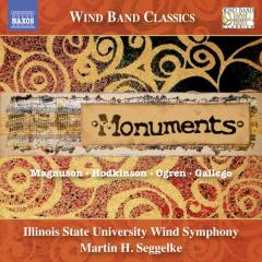 Monuments - wind band music, music for w