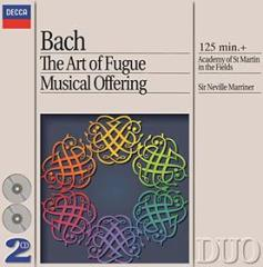 The art of fugue,musical offering (l'arte della fuga - l'offerta musicale)(die kunst der fugue- die musikalisches opfer)