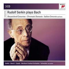 Rudolf serkin plays bach (box 3 cd)