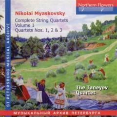 Complete string quartets, vol. 1, nos.1,
