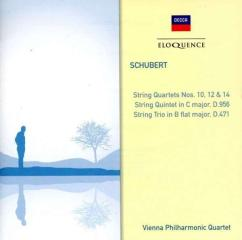 Schubert: string quartets nos. 10 12 & 14 string t