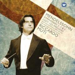 Mendelssohn sinfonie 3,4 &5; liszt les preludes