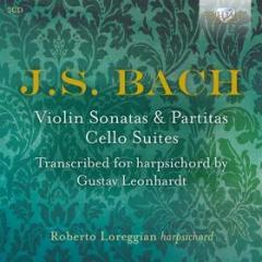 Sonate e partite per violino solo (trascr.per clavicembalo di g.leonhardt)