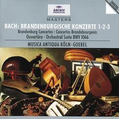 Brandenburgische konzerte nr.1-2-3 (concerti brandeburghesi n.1, n.2, n.3 - suite per orchestra bwv1066)