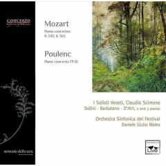Concerto per tre pianoforti k 242, conce