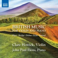 British music for violin and piano - mus