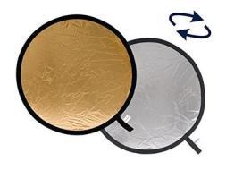 Accessorio Illuminatore Pannello circolare Argento / Oro ?? 75 cm (AZ)