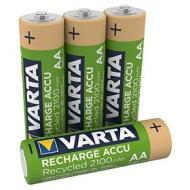 Batteria Standard Ricaricabile Ricar.Varta 56816 Bl/4P Stilo 2100 Ready (AZ)