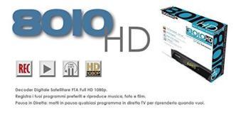 Ricevitore Digitale 8010HD (AZ)