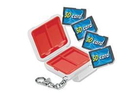 Schede di memoria Custodia SD/MicroSD 4 memorie (AZ)