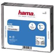 Porta Supporti Magnetici Audio/Video Conf.5Cust.CD Slim Trasp. 51289 (AZ)
