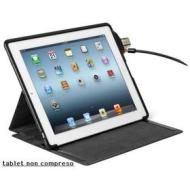 Custodia protettiva Folio SecureBack e lucchetto iPad