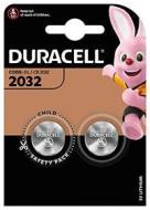 Batteria Standard DURACELL CR2032 3v Litio 2pz -DU22B2 (AZ)