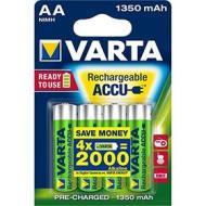 Batteria Standard Ricaricabile Ric.Varta 56746.04 Bl.4Pz Stilo 1350Mah (AZ)