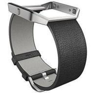 Cinturino Blaze Luxe in pelle nero