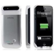 Infinity battery case iPhone 5 silver