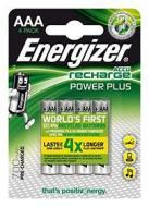 Batteria Standard Ricaricabile Ricar.ENERGIZER HR03 4pz.Minist.700Ni-Mh (AZ)