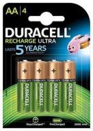Batteria Standard Ricaricabile DURACELL Ric.AA BL/4 StayChar.Ready 2400 (AZ)