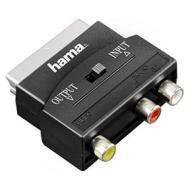 Cavetteria Audio/Video Adattatore 3 RCA F/Scart M in-out 122239 (AZ)