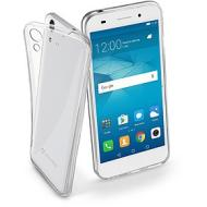 Cover in gomma morbida ultra sottile trasparente Fine (Huawei Y6 II)